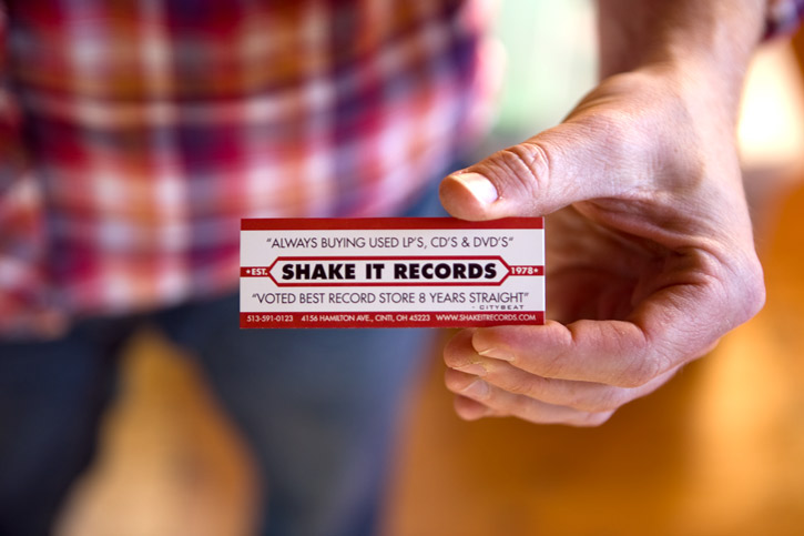 Shake It cards
